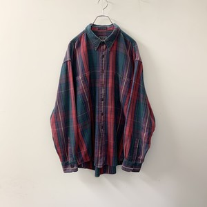 CHAPS RALPH LAUREN コットン チェックシャツ size XL メンズ 古着
