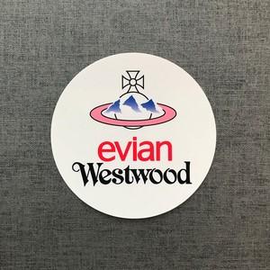 evian Westwood 円型Sticker