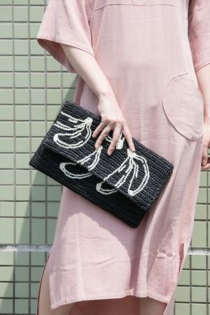 【MIKACHU WORLD】clutch bag (banana2)