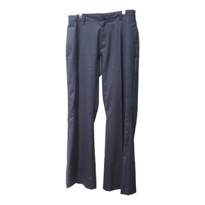 twill wool Flare pants(NVY)