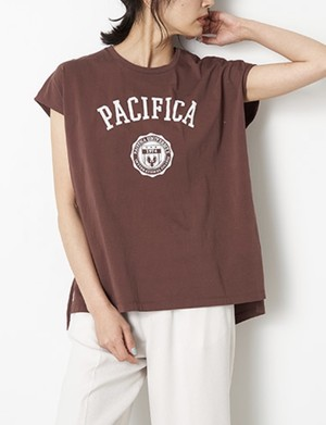 "MICA&DEAL / ""PACIFICA""プリント""TEE"