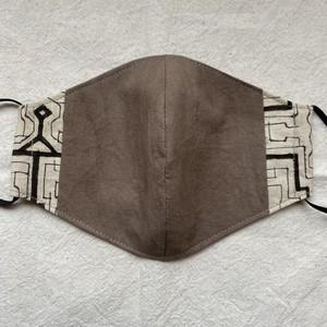 泥染めマスク119 縦13cm