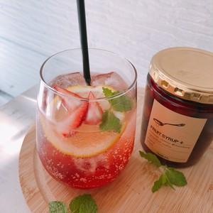 フルーツシロップ 小瓶 ストロベリー
