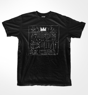 Basquiat RAMMELLZEE VS K-ROB  Beat Bop T-shirts
