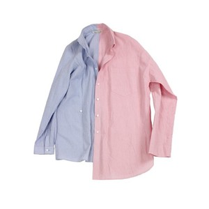 天麻 Tian Ma Shirt  2tone  / MIAO BLUE