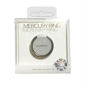 スマホリング マーキュリーリング おしゃれ 韓国 高品質 落下防止 ホールドリング スマートフォン 全機種対応 シルバー