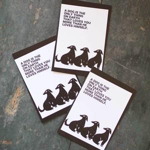 ポストカード《 犬 No.1 》