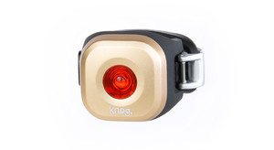 "knog Blinder MINI ""DOT"" BRASS REAR"