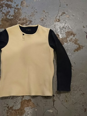 "BAA COSTUME MFG. ""MOLT DEER SKIN L/S TEE"" 2TONE Color"