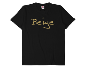 "【受注発注】words color series ""Beige"" T-shirt /全3色"