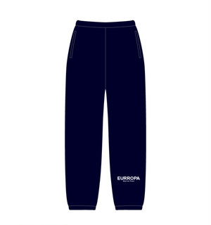 EURROPA LOGO SWEAT PANTS(Navy)