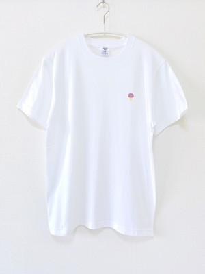 アイスクリームTシャツ(ホワイト)