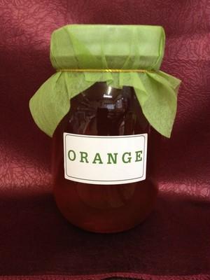 【情熱の赤】オレンジの蜂蜜 600g【スペイン産】