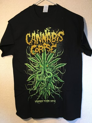"Cannabis Corpse ""CTHULHU"" Tシャツ"