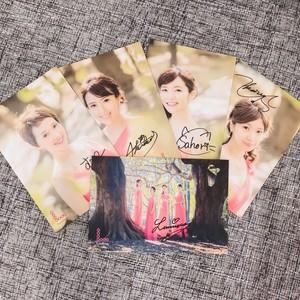 サイン入りフォトカード(5枚セット)②