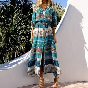 サマードレス ビーチドレス ワンピース ロング丈 エスニック エキゾチック セクシー 大人コーデ 夏 リゾート  ビーチ