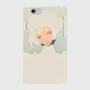 #003-001 iPhone8対応 オリジナルデザイン《白鷺の君》iPhoneケース・スマホケース 作:黒糖からす Xperia ARROWS AQUOS