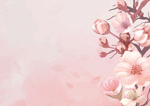 【B1】水彩 春