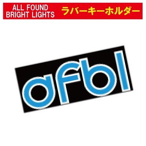 ALL FOUND BRIGHT LIGHTS  afblラバーキーホルダー
