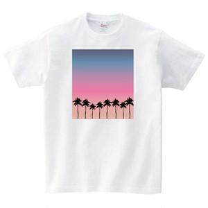 サーフ Tシャツ メンズ レディース 半袖 おしゃれ 白 夏 大きいサイズ 綿100% 160 S M L XL