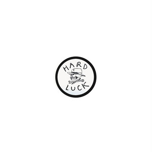 HARD LUCK - OG STICKER (White/Black) 38mm