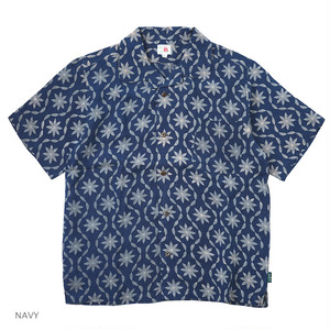 LEAF WAVE SHIRTS / LEAF WAVE PRINT(布帛)
