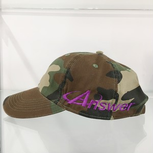 ANSWER COLLECTION / SIDE LOGO 6 PANEL CAP