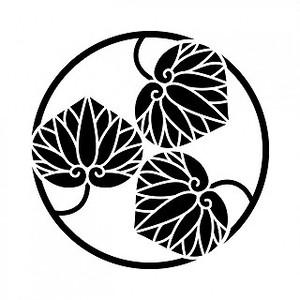 三つ葵の丸 高解像度画像セット