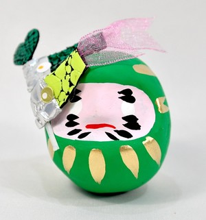 OMNESだるま 春バージョン KOINOBORI(GREEN)