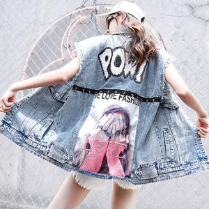 【アウター】プリント図柄デニムファッション人気ベスト44699850