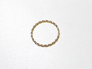 K18 Twist ring / 18金 ツイストリング