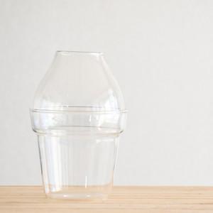【ガラス容器】GLASS PLANTER(直径100xh150mm)