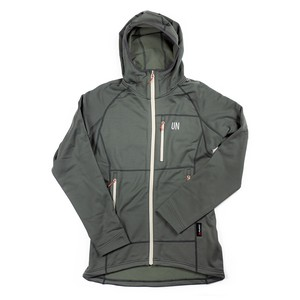 UN3100 Mid weight fleece hoody / Charcoal