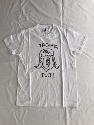 TACOMA FUJI RECORDS  タコマ姉さん  designed by Ken Kagami WHITE