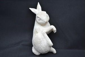 ハンガーオブジェ 横向きウサギ