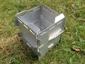 スクエア ゴトク風防フルセット/焚き火オプション付(中板シンプルデザイン)