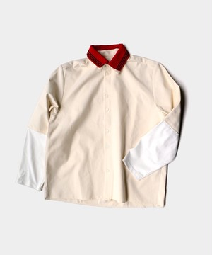 Camiel Fortgens RESEARCH EXTENDED SLEEVE SHIRTS CANVAS/JERSEY