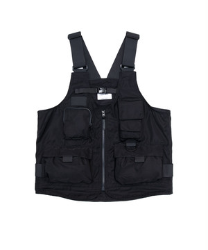 LORINZA 2Way Bag Vest Black LO-STN-VT02