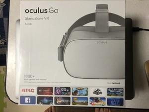 【2泊3日レンタル】VR Oculus Go ヘッドセット