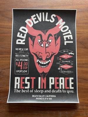 "R.D.M ""Rest In Peace""  Poster Frame / A3ポスター(額無し)"