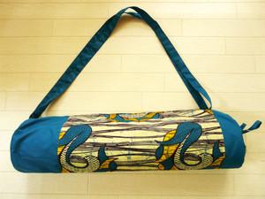 アフリカンバティック 「黄色のエキゾッチク模様」