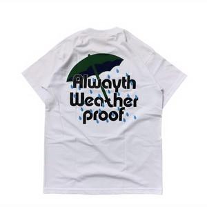 VOYAGE x ALWAYTH / RAIN TEE -WHITE-