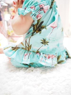 kids服◆フラミンゴ柄セットアップ
