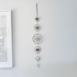 Crystal Grid Flower of Life Wall Hanging クリスタルグリッド フラワーオブライフ壁掛け