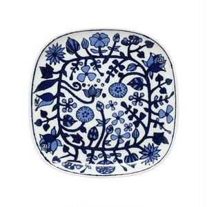 波佐見焼 WAZAN 和山窯 フラワーパレード プレート 皿 大 ホワイト 383700