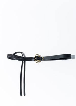 J.C belt black/brass  black/black