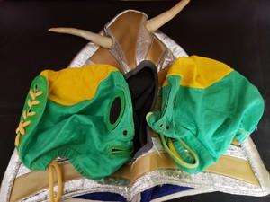 値下げ!超レア!オンブレデコスカール本人使用済みマスク3枚セット