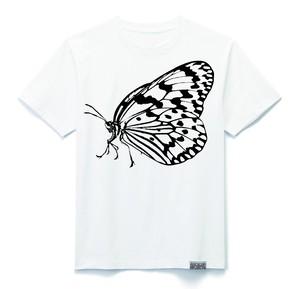プリントTシャツ_オオゴマダラ