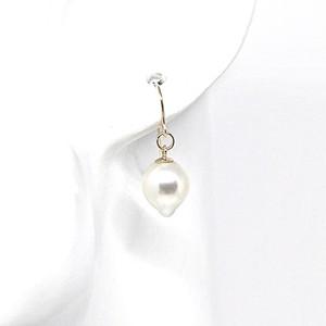 あこや本真珠のしずくのピアスE