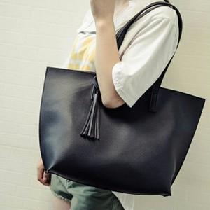 【即納】大人の大容量レザートートバッグ A4サイズ◎黒 R090